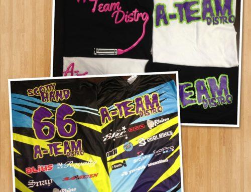 A Team Distribution BMX Jerseys