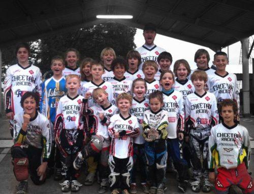 BMX Jersey's for Cheetah Race Team
