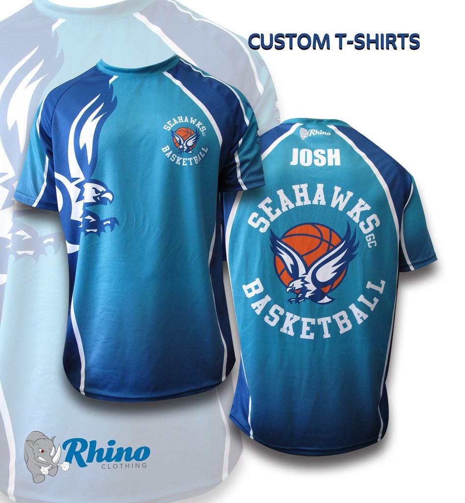 Seahawks Basketball T-Shirt