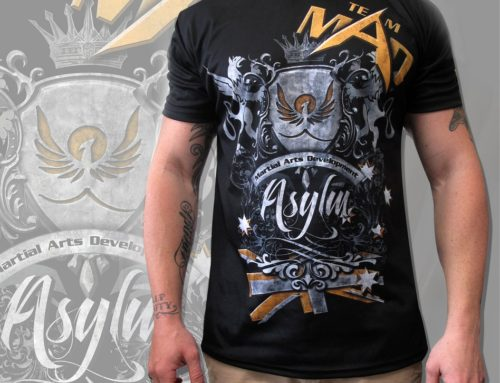 Asylum -Sublimated Walk Out T-Shirt