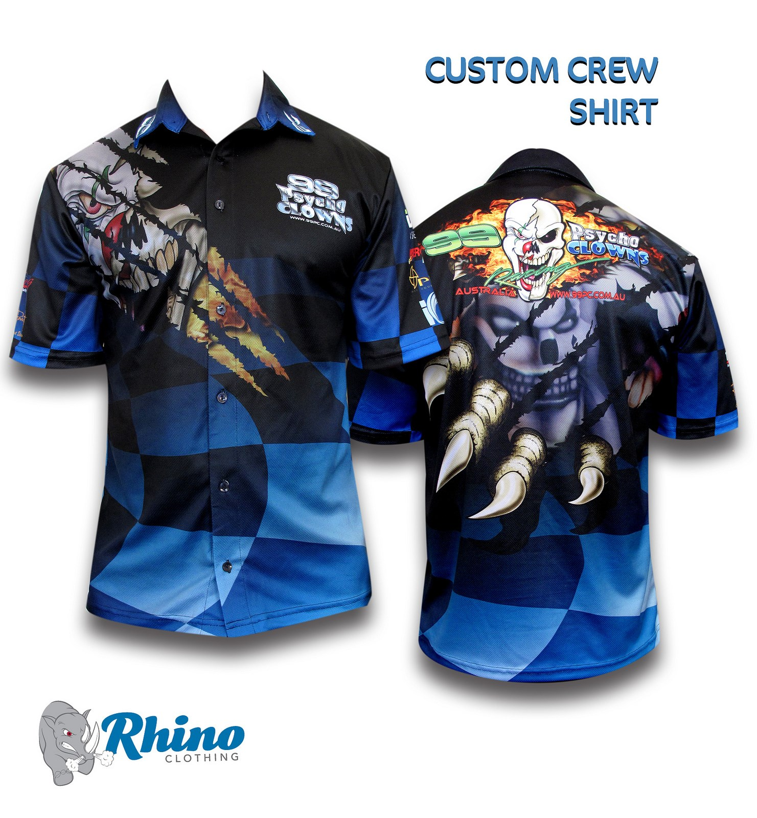 Crew Sublimated Shirt Sports Wear