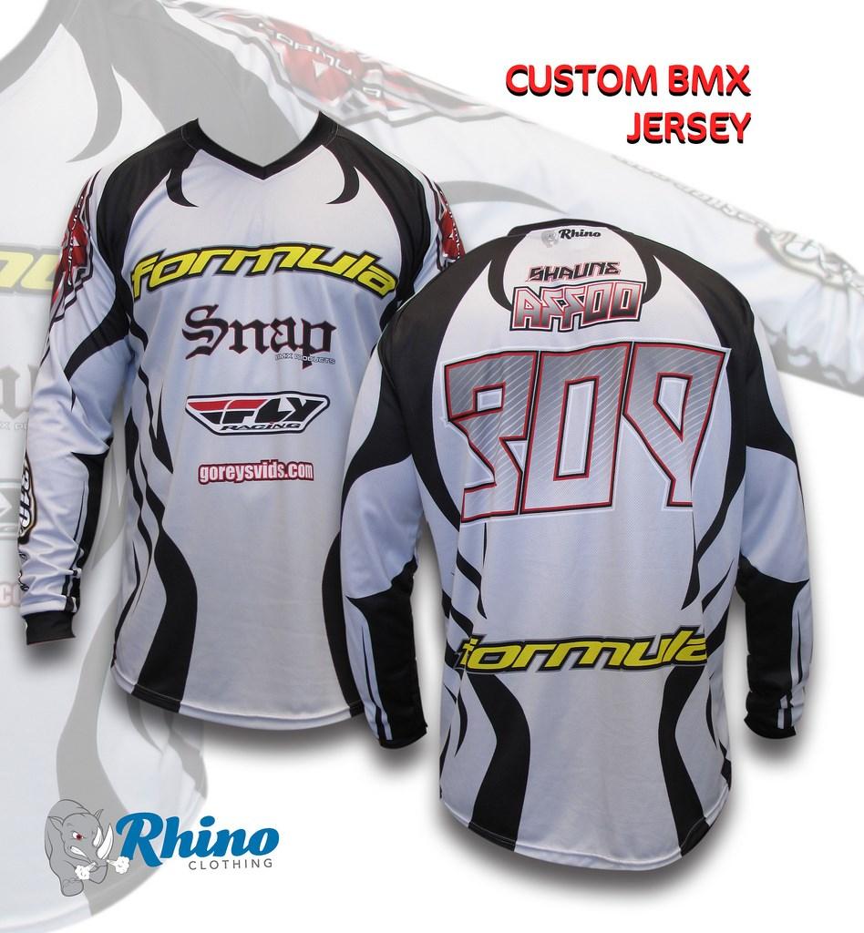 Custom BMX Jersey