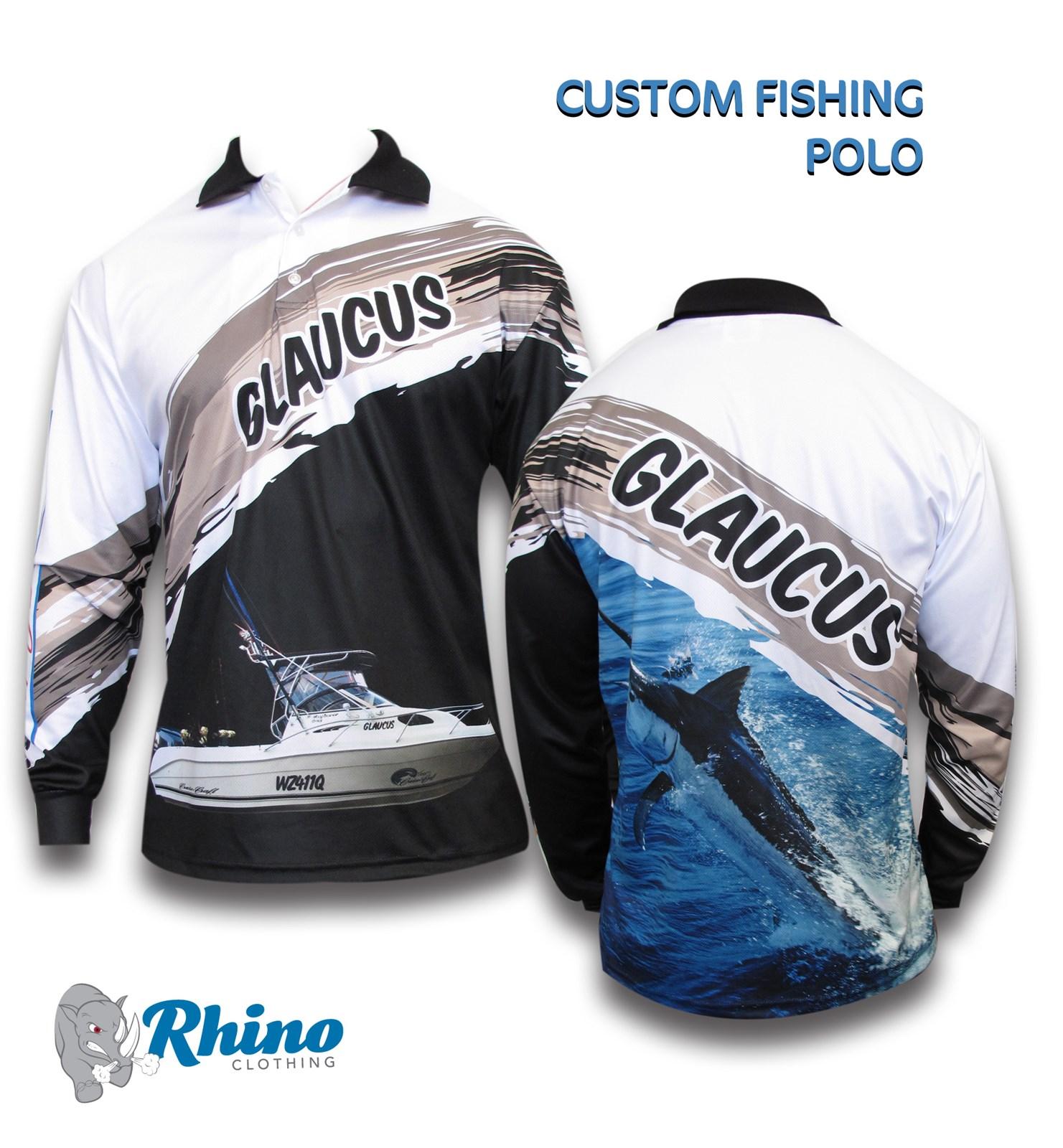 Fishing rhino clothing custom sportswear for Custom made sport shirts