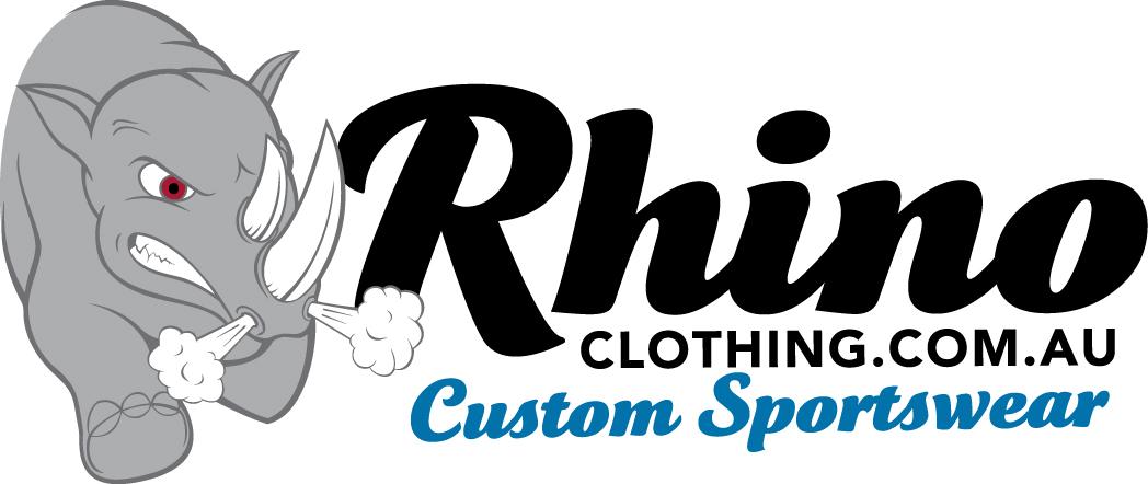 Rhino Clothing – Custom Sportswear Retina Logo